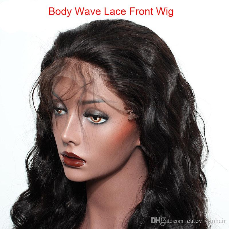 Pre Plucked Brazilian Human Hair Lace Front Wigs For Black Women Body Wave/Loose Wave Natural Hairline Wigs Natural Color Best Selling Items