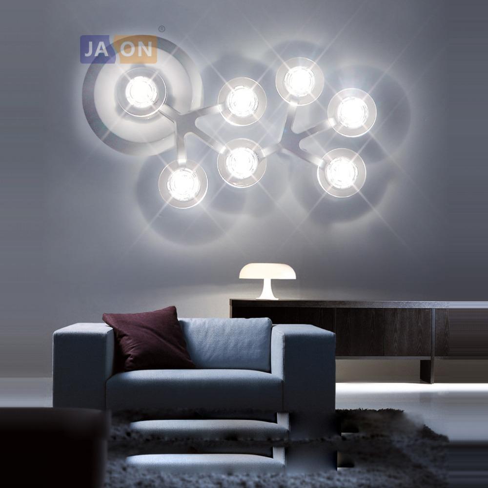 Acheter Etoile Acrylique De Fer Nordique Etoile Noire Blanche Lampe