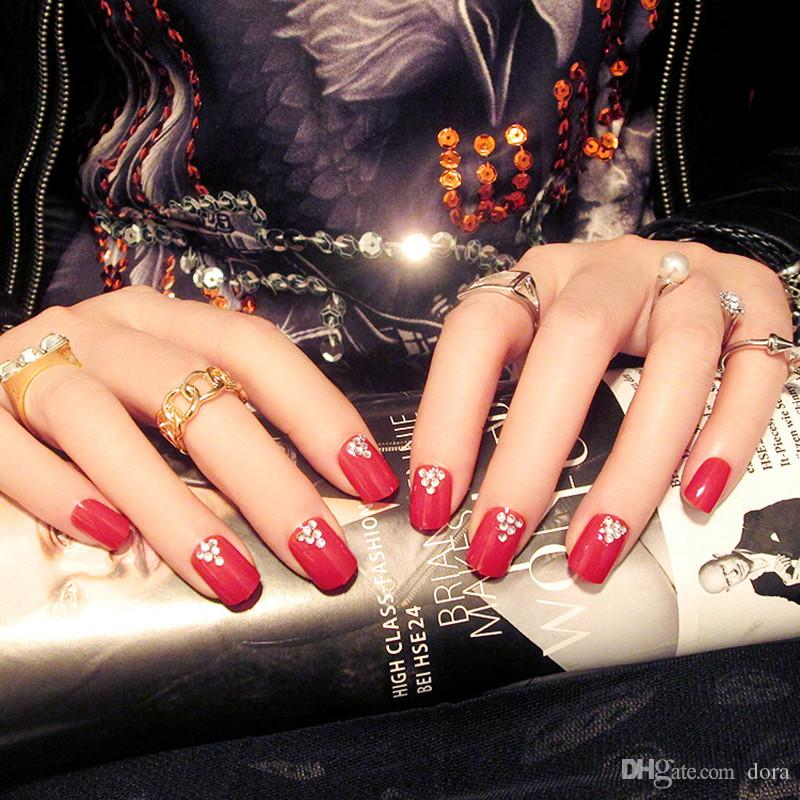 New Arrival Childrens False Nails Abstract Animal Motifs Of Nail