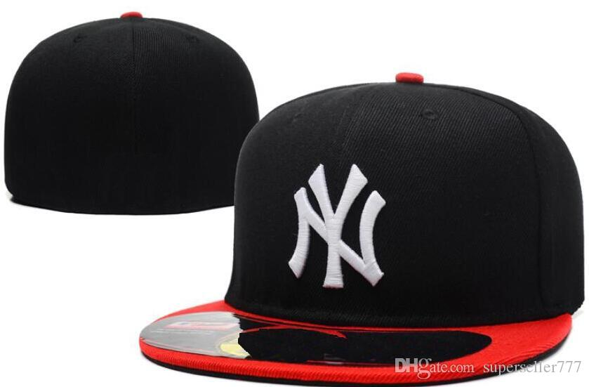 Fitted Hats Sunhat New York HAT NY Cap Team Baseball Embroidered ... 52f01f42cca