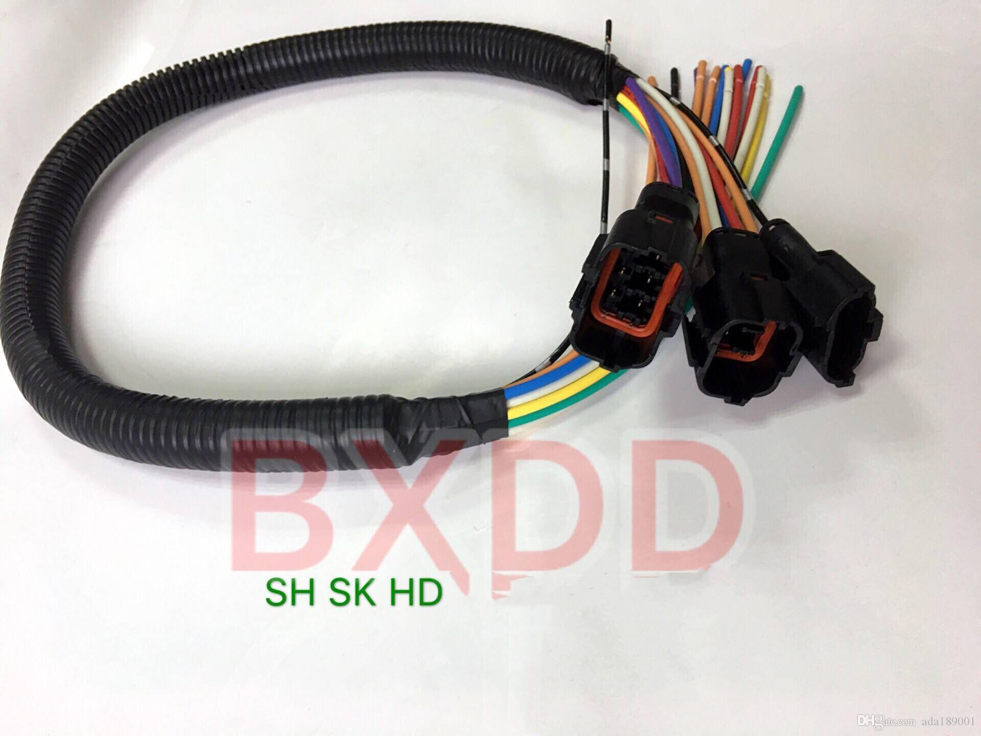 2018 Kobelco Excavator Electronic Pump Plug Wiring Harness 3 Lines Kobelco  Excavator Wiring Harness Outside Wiring Harness From Ada189001, $80.41 |  DHgate.