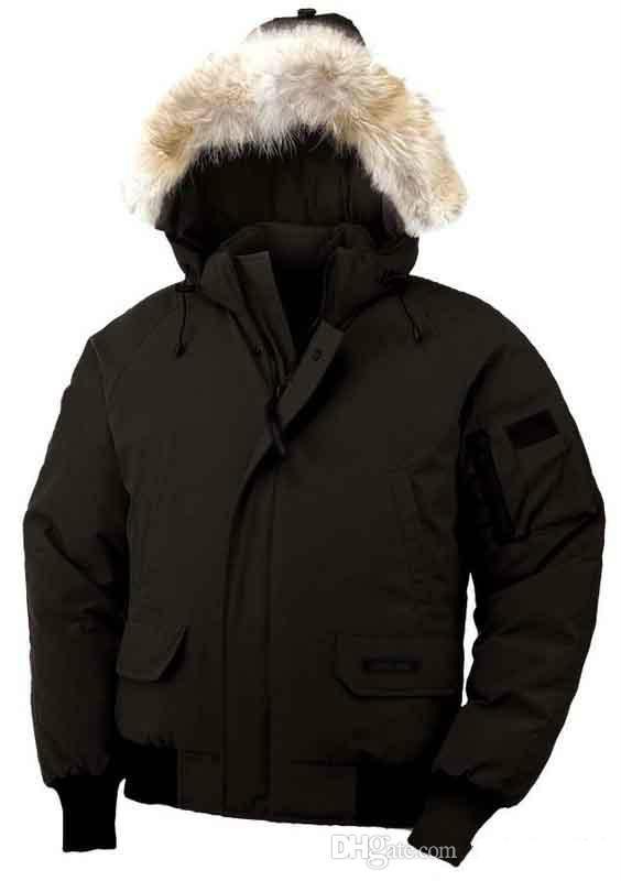 Großhandel Mode Winter Unten Kapuzen Bomber Parka Jacken Grün  Reißverschlüsse Jacke Männer Warm Canada Coat Outdoor Mäntel Billig Verkauf  Von Guyu11, ... ba2d5996be