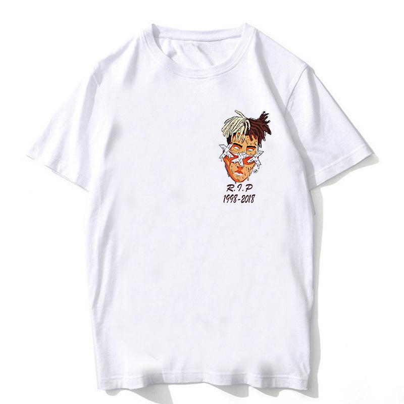 e02f592a Newest Fashion Man Tshirt Xxxtentacion Summer Fashion T Shirt Casual ...