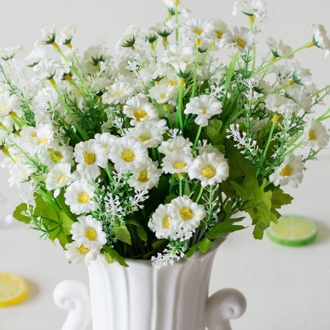 2018 Practical 28 Heads Spring Daisy Flowers Artificial Flower