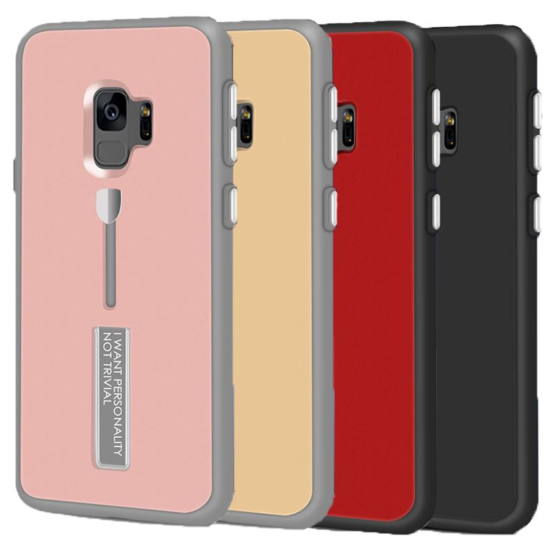 outlet store c08bb 4a05a 360 Degree Full Body Protective Case Cover with Kickstand for Samsung  Galaxy S9 S9plus