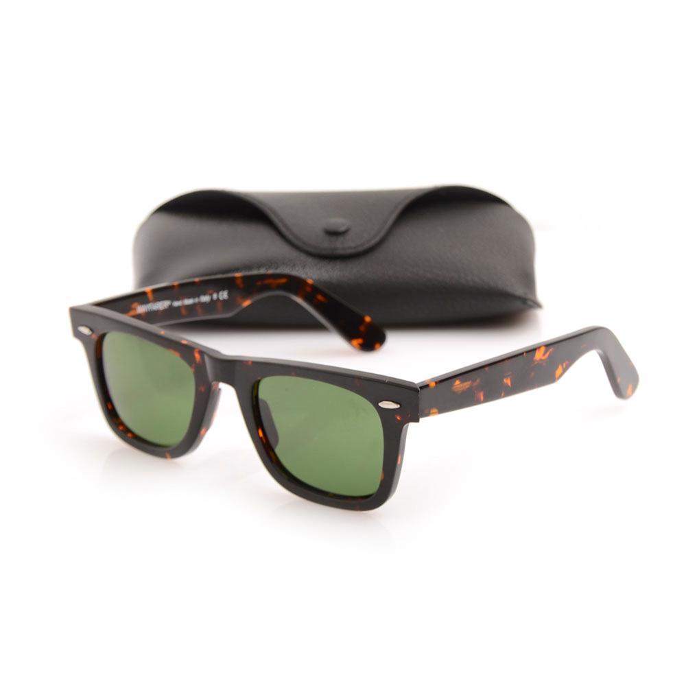 New High Quality Mens Womens Sun glasses Plank glasses Tortoise Frame Sunglasses glass Lens Green Lens glasses beach sunglasses glitter2008