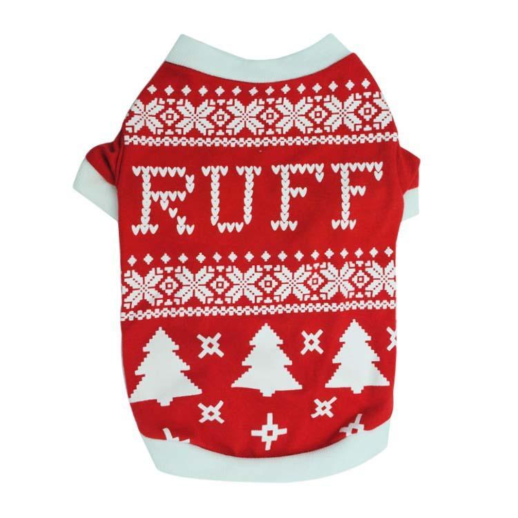 2018 Pet Dogs Sweater Cat Winter Warm Sweater Christmas Knit Coats