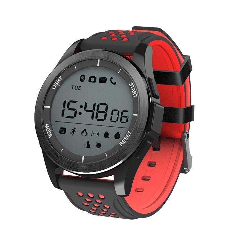 a3bb1e2fc01e Smartwatch NO.1 F3 Deportes Reloj Inteligente Bluetooth IP68 Profesional  Impermeable Natación Reloj Podómetro Al Aire Libre Muñequera Para Android  IOS ...