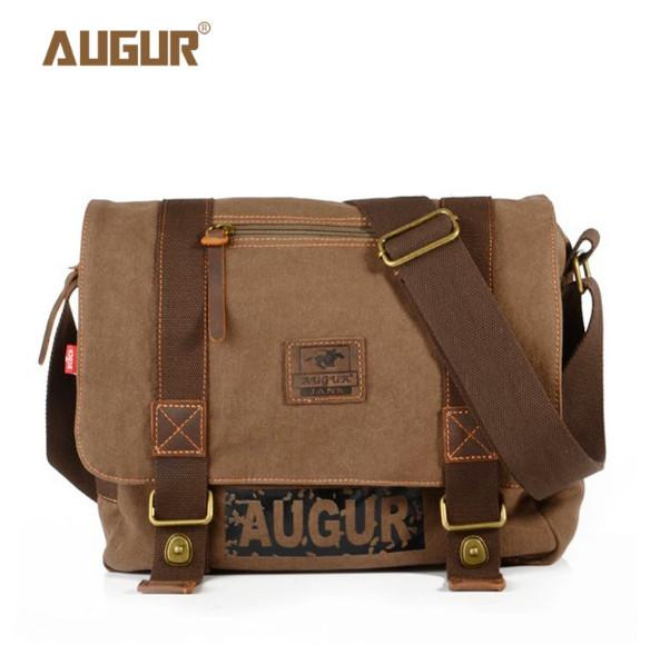 ae08407778d8 2017 Vintage Men s Postman Handbags Canvas Shoulder Bag Men Fashion ...