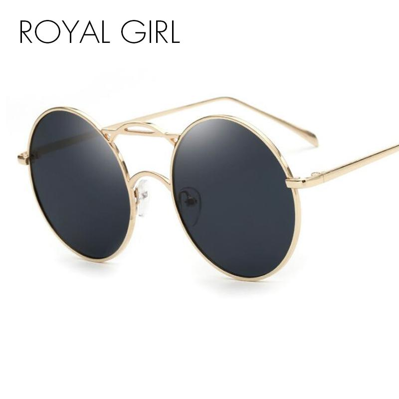 ROYAL GIRL New Brand Designer Women Sunglasses 2018 Fashionable Sun Sunnies  Round Metallic Shades Sun Glasses Female Ss800 Eyeglasses Sunglasses Hut  From ... 95702ec67