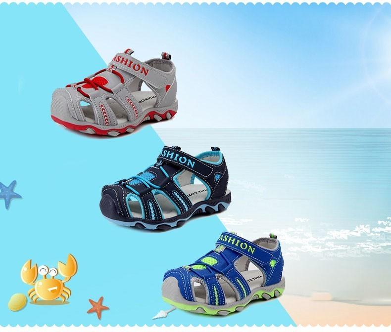 3bdc2bd1fa368 Insole Length 16 21 CM 6 11 Years Children S Summer Shoes Boy Fashion Kids  High Quality Comfort Casual Beach Sandals Boys Cheap Boots Buy Online Kids  Shoes ...