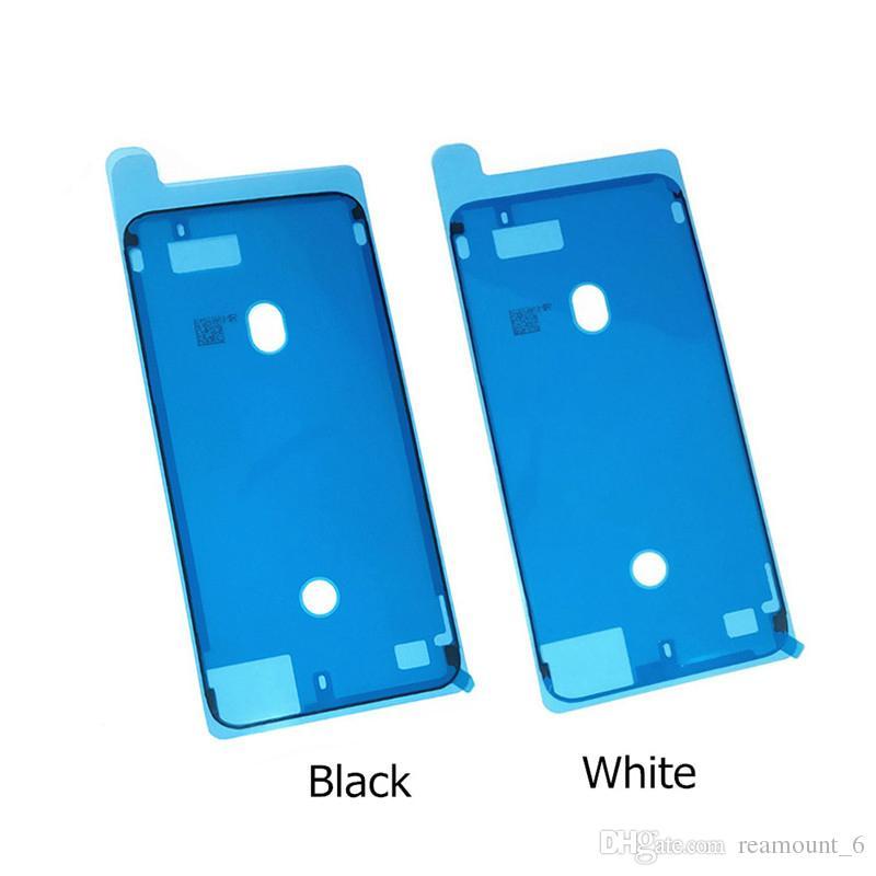5 stücke Original Qualität 3 Mt Pre-Cut Wasserdicht Klebeband Kleber Für iPhone X 8 8 Plus Front Gehäuse LCD Touchscreen Rahmen Aufkleber