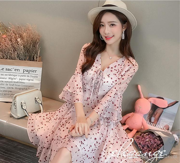 Satın Al 2018 Yeni Giyim Kadın Giyim Ilkbahar Ve Yaz Yeni