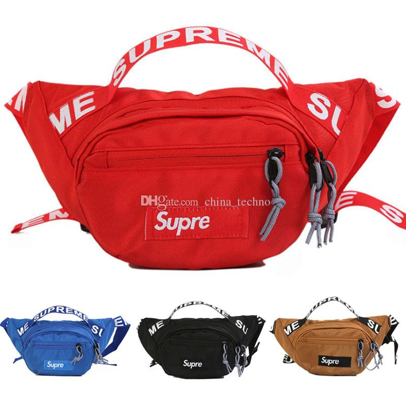 3dd0198f2de0 Supme Waist Bag 18ss Chest Pack Fashion Bags Single Shoulder ...