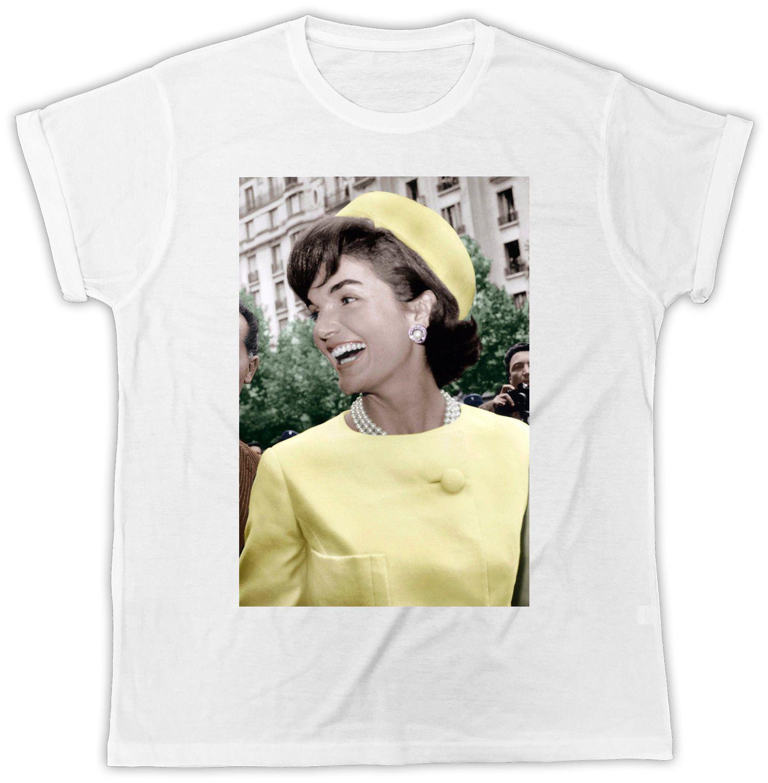 Jackie Kennedy T-Shirt The Movie JFK Ideal Gift Birthday Present Unisex  Tshirt Style Round Style tshirt