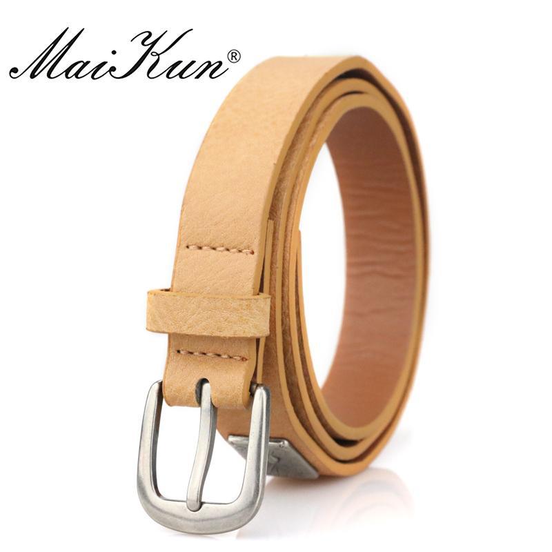 Acheter Maikun Thin Belts Pour Les Femmes Rétro Style Faux Cuir Femme  Ceinture De Luxe Designer Rivet Femmes Ceinture De  36.76 Du Strips    DHgate.Com 93220ae4ac7