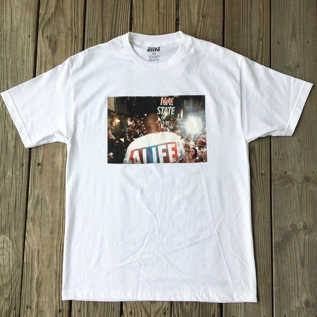 New Alife  Nas Of Alife  Shirt Sz XL Mens 2018 Fashionable Brand 100 ... 952ab71ec0