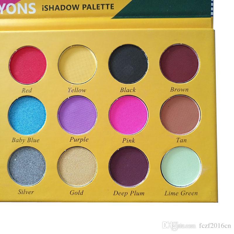 maquillaje Paleta de sombras de ojos Caja de lápices de colores Paleta de sombras de ojos Cosméticos es Shimmer Belleza Mate Sombra de ojos THE CRAYONS CASE
