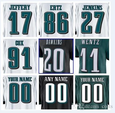 2018 2018 Philadelphia Brian Dawkins Eagles Jersey Fletcher Cox Vapor  Untouchable Color Rush Limited Customized American Football Jerseys Cheap  From Texans a05340f35