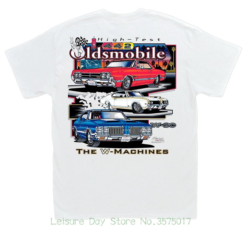 c558cf80b Great Discount Cotton Men Tee Hot Shirts High Test Oldsmobile T Shirt : 442  W Machine 455 Hurst / Olds Cutlass W 30 Online T Shirt Shopping Print On T  Shirt ...