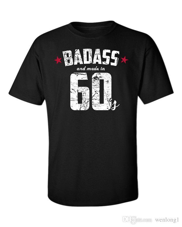 Grosshandel Badass T Shirt 60er 70er Jahre 80er Jahre 90er Jahre