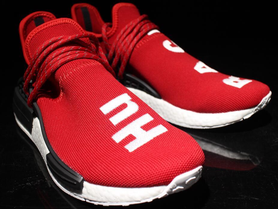 3d6e1344e Wholesale Human Race Hu Nerd Running Shoes Pharrell Williams X Red Yellow  Black White NMD Runner Men Women Trainers Sneakers Boots 36 47 Black  Running Shoes ...