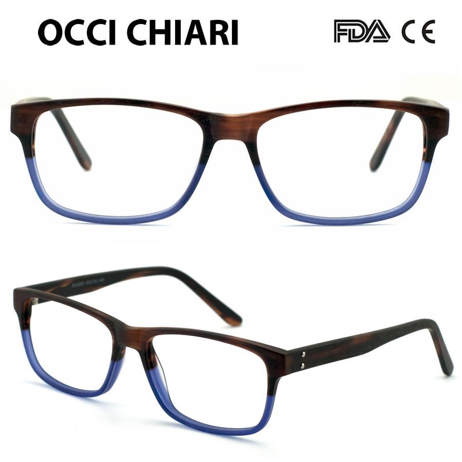 Großhandel Occi Chiari Frauen Optische Gläser Rahmen Matte Hand ...