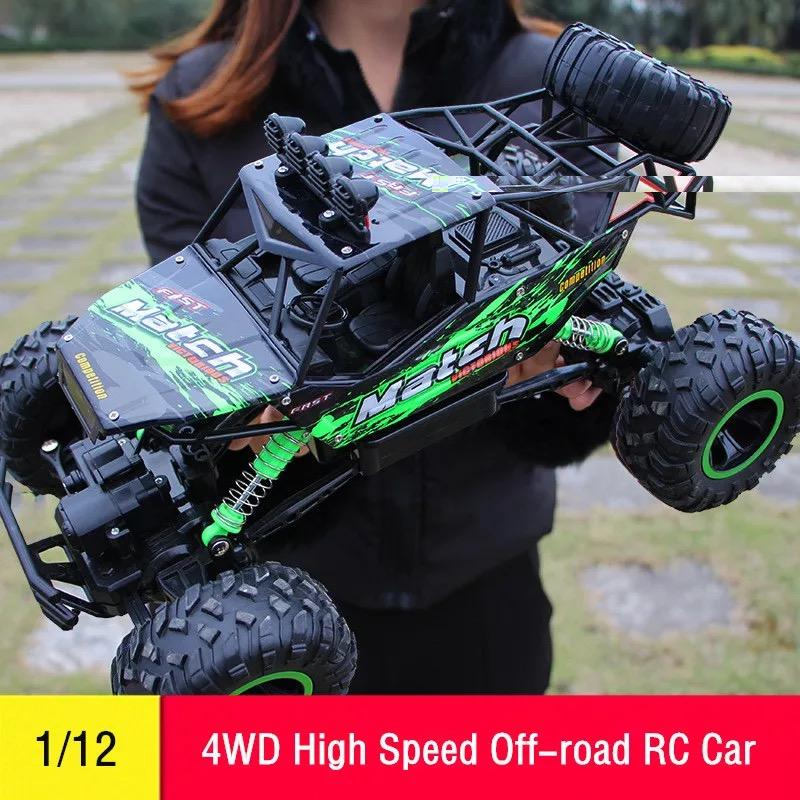 Monster Truck Rc Cars >> Rc Car 1 12 4wd Remote Control High Speed Vehicle 2 4ghz Electric Rc Toys Monster Truck Buggy Off Road Toys Kids Suprise Gifts