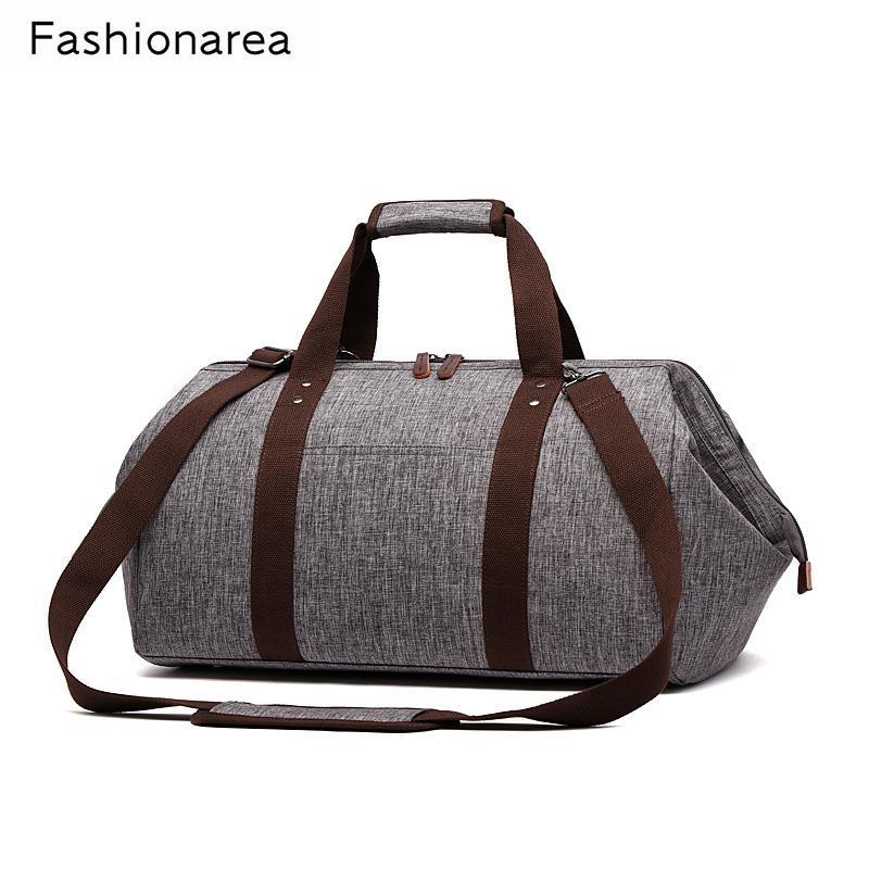 Waterproof Travel Bag Large Capacity Men Hand Luggage Women Travel Duffle  Bags Messenger Weekend Bag Multifunctional Travel Tote Toiletry Bags Best  Gym Bags ... e2677fd64b82a