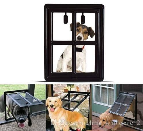 2018 Pet Cat And Dog Gates Door Lock Lockable Safe Flap Door Puertas Para  Perros Door For The Cat Medium And Large Dogs From China_wholesale12, ...