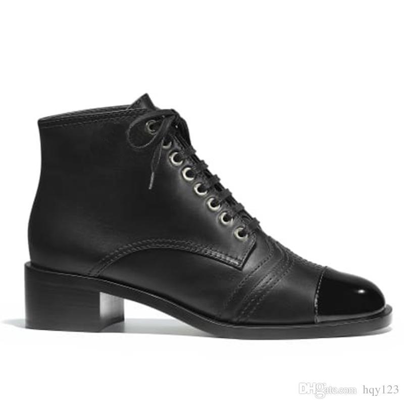 Chaussures Mode Zy080101 De Marque Luxe Créateur Lacets Française 35 40 Femme Nouveau Femmes Taille Modèle Arrivé Bottines À UMLjqpGVzS