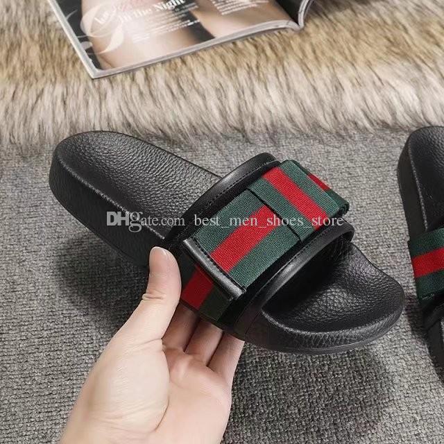 5ff63afa38d7e Original Box Men Scuffs Flat Heel Bow Tie Genuine Leather Men s ...