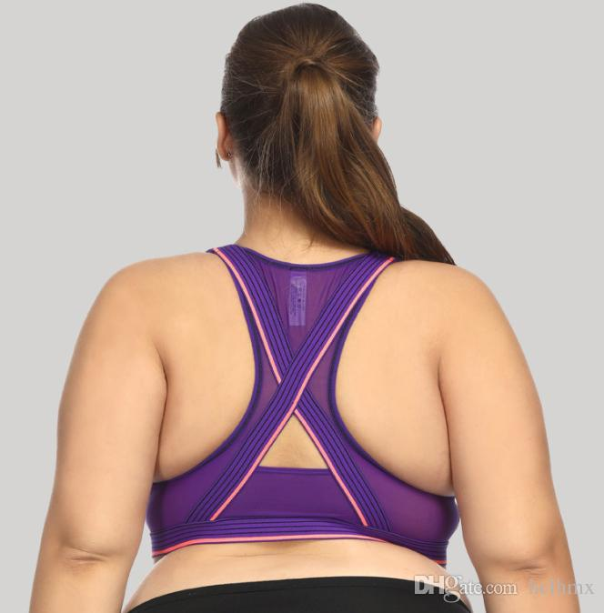 6b67e9b2b8 2019 Stylish Quick Dry Breathable Yoga Bra High Impact Racer Back Bras  Women S Sport Fashion Athletic Bra Underwear Hot Sexy Sports Bra From  Hclhmx
