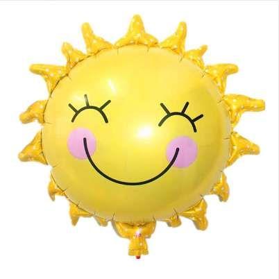 Grosshandel Tszwj G 071 Die Neue Sonne Smiley Sonne Aluminium Ballons