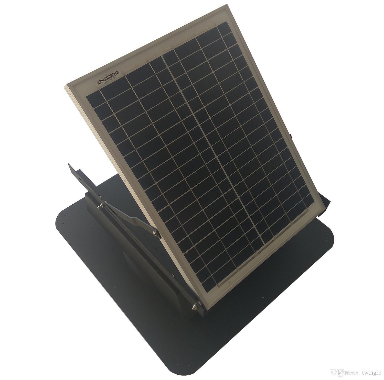 Solar Attic Exhaust Fans Twinpa Garage Ceiling Fan Roof