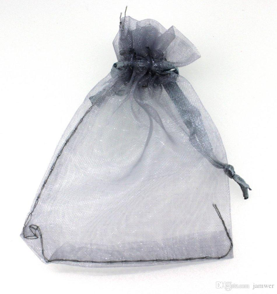 Wholesale- Hot Lovely Organza Wedding Favor Xmas Gift Bags Jewellery ...