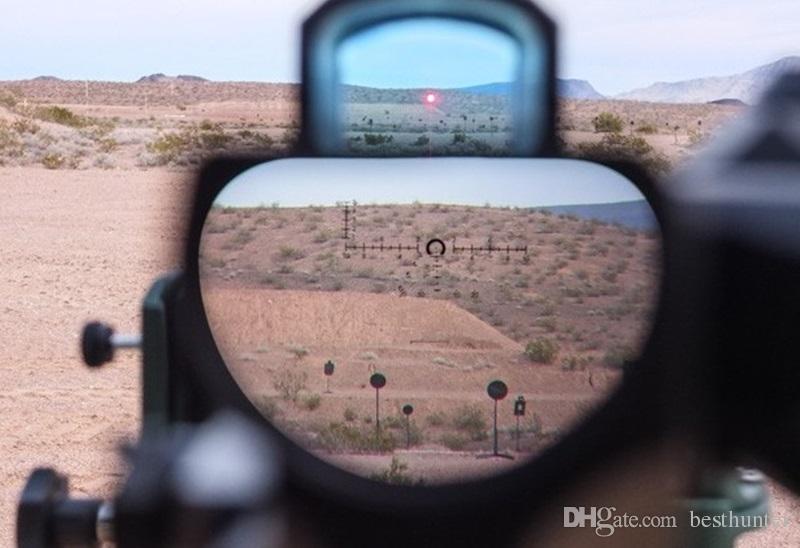 LEUPOLD D-EVO Zielfernrohrlupe mit zweifach verbesserter Sicht und LEUPOLD LCO Leuchtpunktvisier