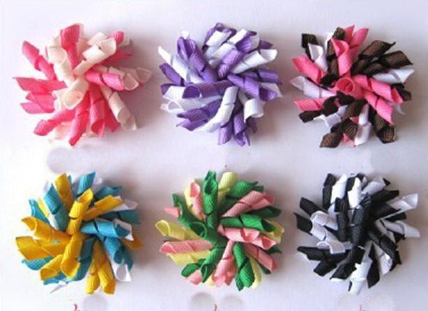 Girl Corker Tassel Ponytail Holders Curly Ribbons Flower Hair Bows Clip  Ties Korker Hair Bobbles Elastic Accessory PD007 Flower Girl Hair  Accessories Flower ... 873fd056cfd