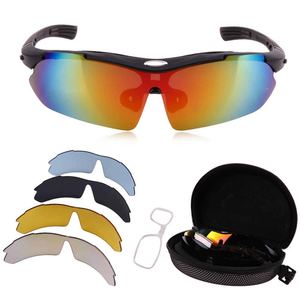 d547ce36e Compre Ciclismo Eyewear Novas Lentes Polarizadas Unissex Óculos De Ciclismo  Da Bicicleta Da Bicicleta Óculos De Sol Óculos De Proteção UV 400 5 Lentes  De ...