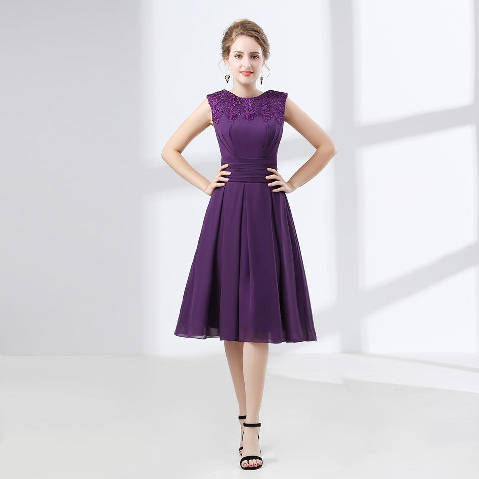 b14851e29c 2018 Evening Dress Short Purple Design The Banquet Dress One Piece Dress  Jewel Plus Size Women Short Evening Dresses 662809 Brown Dresses Cheap  Evening ...