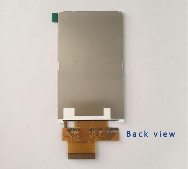 4 بوصة 480 * 800 دقة شاشة IPS TFT LCD Module مع شاشة RGB Interface من تصنيع لوحة amelin شنتشن