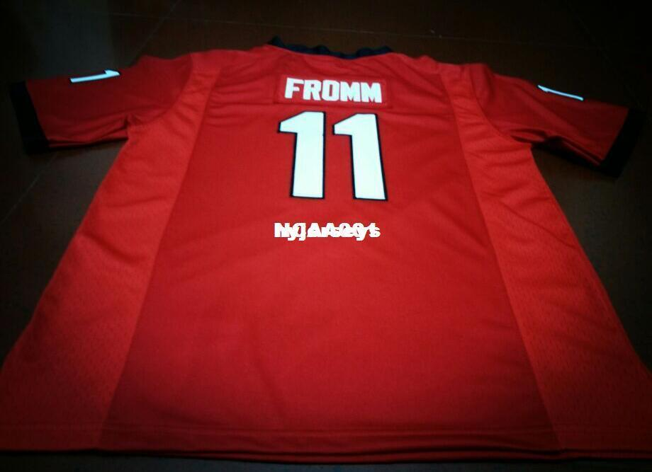 61823b61f 2018 Cheap Men  11 Jake Fromm DAndre Swift Georgia Bulldogs Red Black White  College Football Jerseys Or Custom Any Name Or Number Jersey From  Hyjerseys