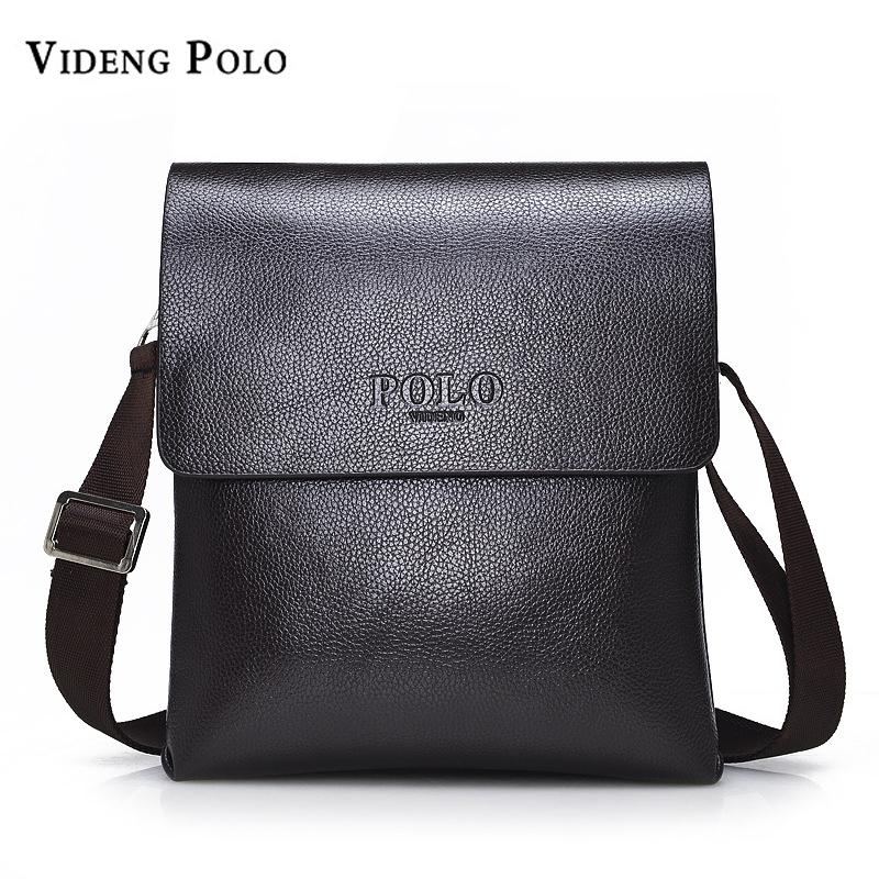 VIDENG POLO Hot Sell Brand Solid Double Pocket Soft Crossbody Bag Leather  Men Messenger Bag Small 2 Layer Mens Shoulder Satchel Clutch Bags From  Lookchill, ... 528d6ec731
