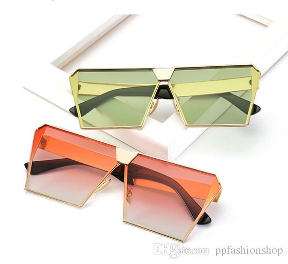 6a402be2920 2018 NEW Oversized Women Sunglasses Unique Brand Designer Sunglass Vintage Eyeglasses  Frames For Women Top Quality UV400 Tifosi Sunglasses Cheap Eyeglasses ...