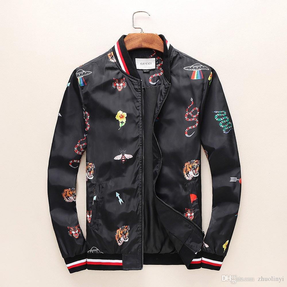 a879e2652 Fashionable Coat of Fashionable Long-sleeve Print Jacket for Men of ...