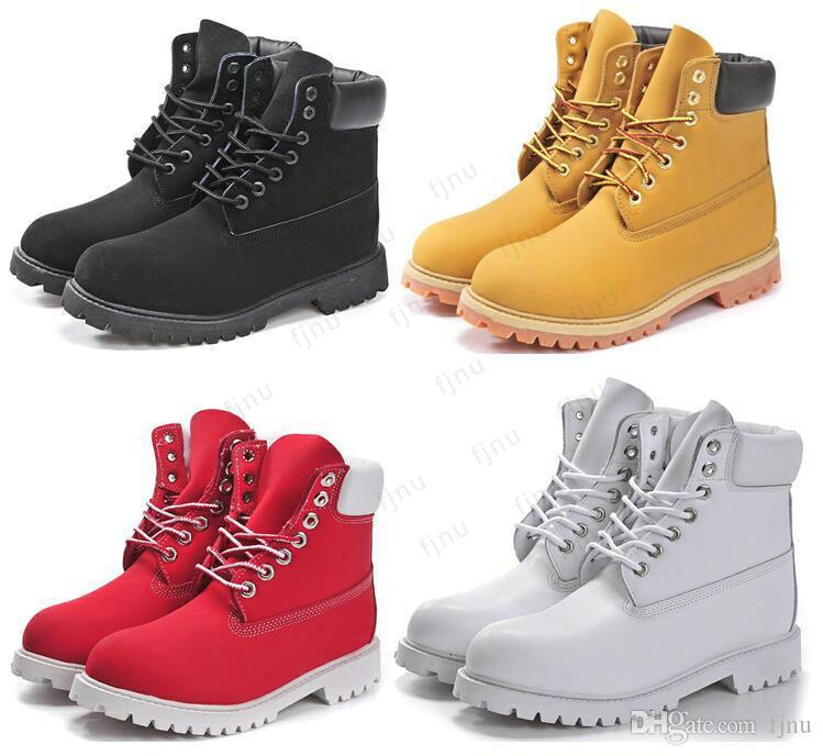 Hombres Mujeres Botas para la nieve Botas Martin ocasionales Venta al por mayor Marca de moda Zapato de cuero genuino Zapatos al aire libre