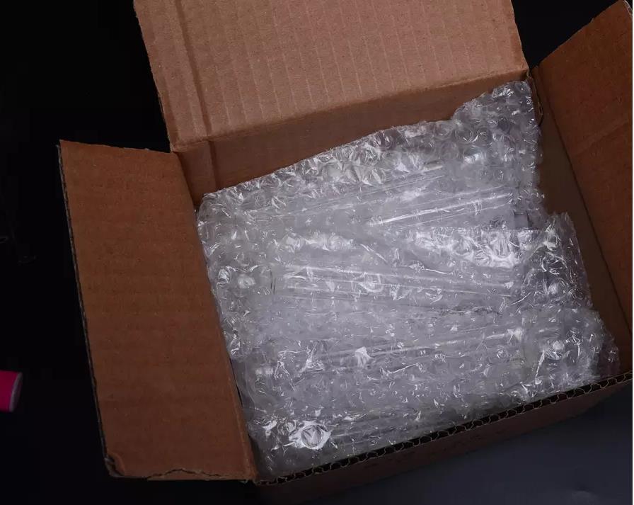 Transparente Glas Ölbrenner Smoking Pipes lang 10cm oder 15cm