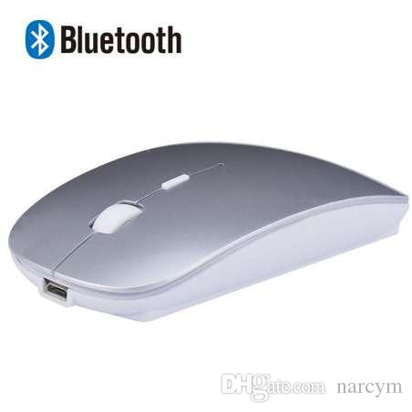 1ab20af7d0b 2019 Rechargeable Bluetooth Wireless Slim Mouse Mice For IPad Mac Apple  Laptop Macbook Notebook Desktop Tablet Support Windows 10 8 7 From Narcym,  ...