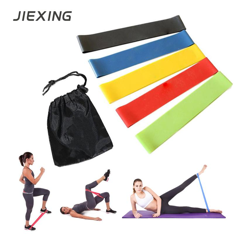 Yoga Strap Resistance Bands Sports Exercise Stretch Belt Elastic Bands For Fitness Elasticas Para Ejercicio Accesorios Para Gym Resistance Bands Sports & Entertainment
