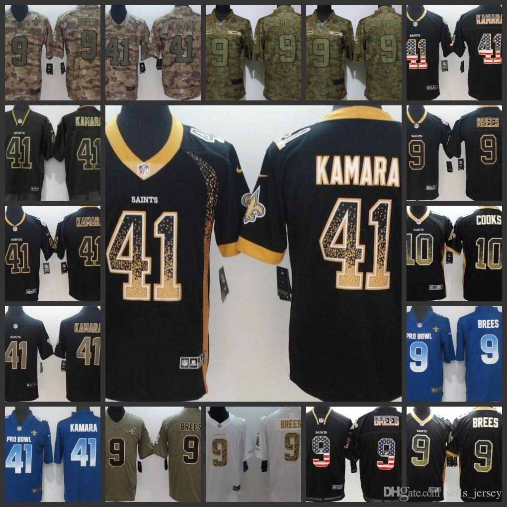 New Orleans Saints Men Women Youth Football Jersey  9 Drew Brees 41 Alvin  Kamara Embroidery Jerseys Online with  27.22 Piece on Sells jersey s Store  ... 47003e468